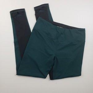 Victoria's Secret Sport Two tone Green and black L